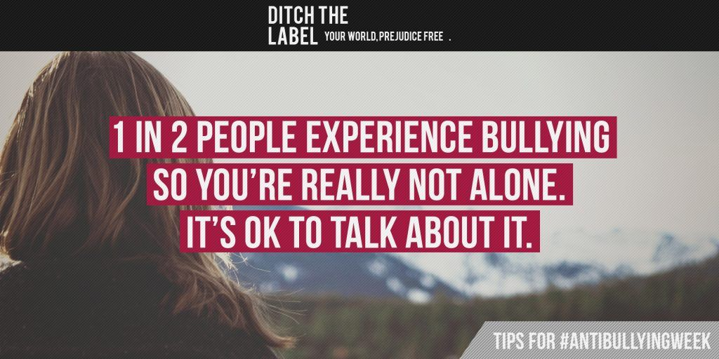 Top 10 Tips for Overcoming Bullying - Ditch the Label