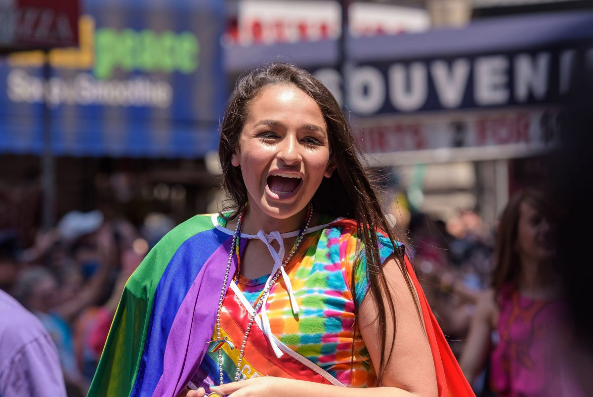 "Jazz Jennings: ""I'm proud of who I am. This is me, I'm transgender, and that's okay!"""